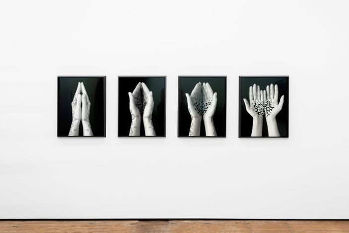 Exhibition view: Shirin Neshat, Memory and Illusion, Goodman Gallery, Cape Town (12 August–18 September 2021). Courtesy Goodman Gallery.