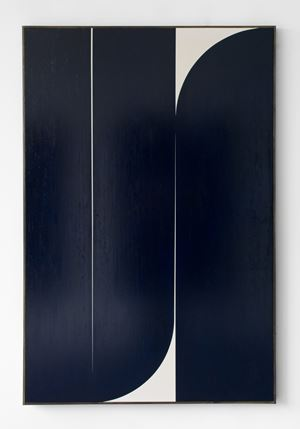 Dark Blue #4 by Johnny Abrahams contemporary artwork
