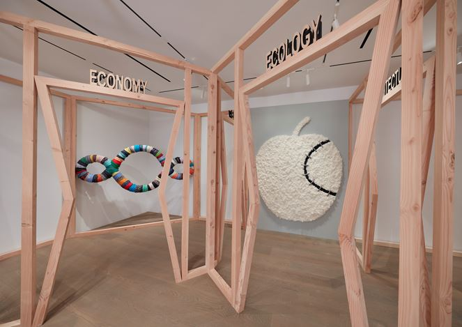 Exhibitionview: Michelangelo Pistoletto, Lévy Gorvy, New York (14 October 2020–30 January 2021). © Michelangelo Pistoletto. Courtesy Lévy Gorvy. Photo: Tom Powel Imaging.
