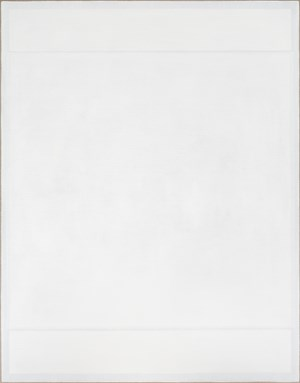 Four White Rectangles on White by Danica Firulovic contemporary artwork