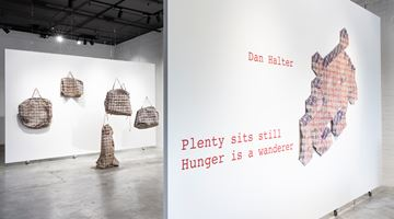 Contemporary art exhibition, Dan Halter, Plenty sits still. Hunger is a wanderer at This Is No Fantasy dianne tanzer + nicola stein, Melbourne