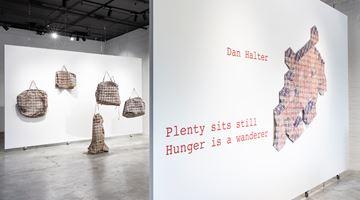 Contemporary art exhibition, Dan Halter, Plenty sits still. Hunger is a wanderer at THIS IS NO FANTASY dianne tanzer + nicola stein, Melbourne