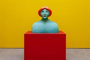 Bust by Nicolas Party contemporary artwork