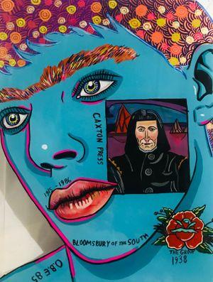 Leo Bensemann by Sam Mitchell contemporary artwork