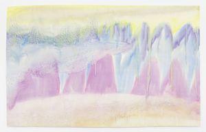 landschaft by Miriam Cahn contemporary artwork