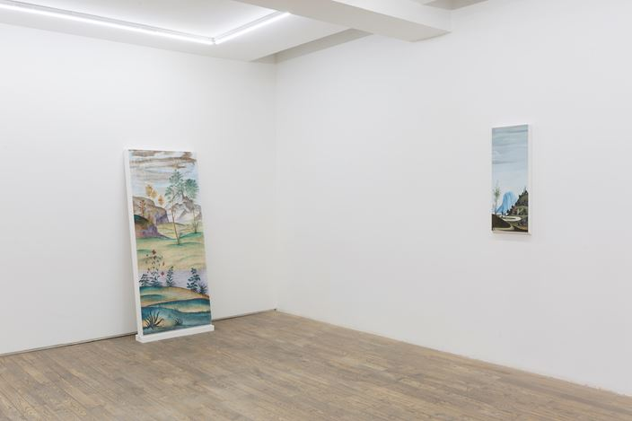 Exhibition view: Dong Dawei, Landscape Portrait, HdM GALLERY, Beijing (17 Octover–28 November 2020). Courtesy HdM GALLERY.