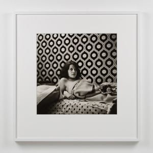 Fran Lebowitz (at Home in Morristown) by Peter Hujar contemporary artwork