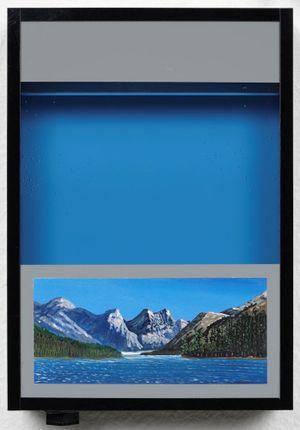 Pocket vaction box - Cerulean Blue by Naoya Inose contemporary artwork