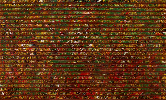 BLINDS: This Is Not A Pollock by Chandraguptha Thenuwara contemporary artwork