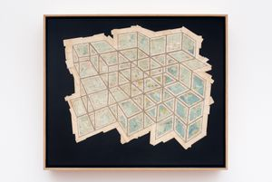 Square Expanse by Gerhard Marx contemporary artwork