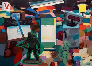 In the Garden of Pessoa by Antonio Cosentino contemporary artwork