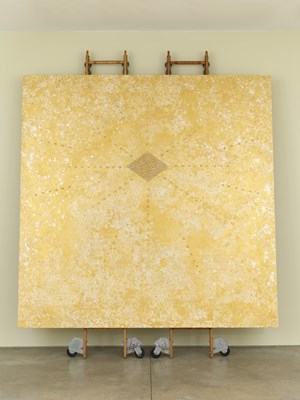 Providence Spirits (Gold) by Nari Ward contemporary artwork