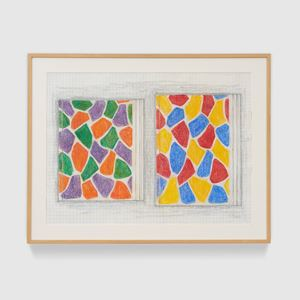 Two Paintings by Jasper Johns contemporary artwork