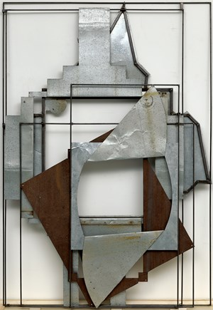 Crucifixion No.14 by Liu Wei contemporary artwork