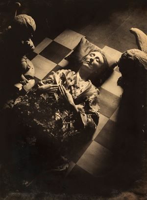 Edith Sitwell by Cecil Beaton contemporary artwork