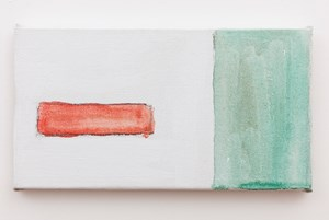 Again by Raoul De Keyser contemporary artwork