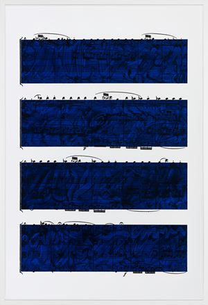 Quartet by Idris Khan contemporary artwork