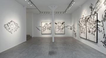 Contemporary art exhibition, Abdelkader Benchamma, Signes at Templon, Brussels
