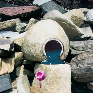 Sea and Pus (Stone mason) #2 by Teppei Kaneuji contemporary artwork