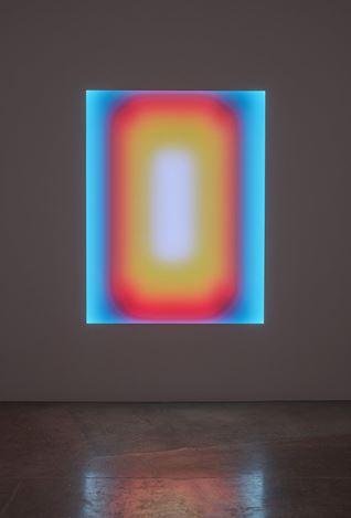 James Turrell,Atlantis, Medium Rectangle Glass (2019). Exhibition view: Bloom of Joy,Pace Gallery, Hong Kong (4 September–15 October 2020). © James Turrell. Courtesy Pace Gallery.