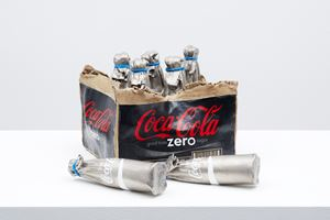 Box Coca Cola Zero 19 by Kimiyo Mishima contemporary artwork