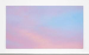 Sky Backdrop by Alex Israel contemporary artwork