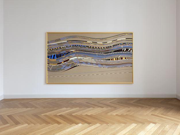 Exhibition view:Elisabeth Frieberg, White Black Death Gold, KEWENIG, Berlin (8 February–4 April 2020). © Elisabeth Frieberg.Courtesy KEWENIG, Berlin. Photo: Lepkowski Studios, Berlin.