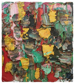 Four Noblemen of New Year's Eve 除夕四士(二) by Zhu Jinshi contemporary artwork