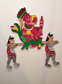 Tudela en traje de Chinelo – Flores que embriagan by Mariana Castillo Deball contemporary artwork sculpture