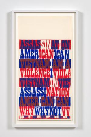 american sampler by Corita Kent contemporary artwork