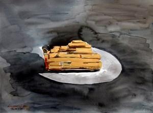 Gold is Noun 5 by Liu Weijian contemporary artwork
