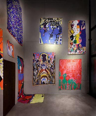 Exhibition view: Johanna Dumet, Room #2, KEWENIG, Berlin (7–29 February 2020). © Johanna Dumet.Courtesy KEWENIG, Berlin. Photo: Lepkowski Studios, Berlin.