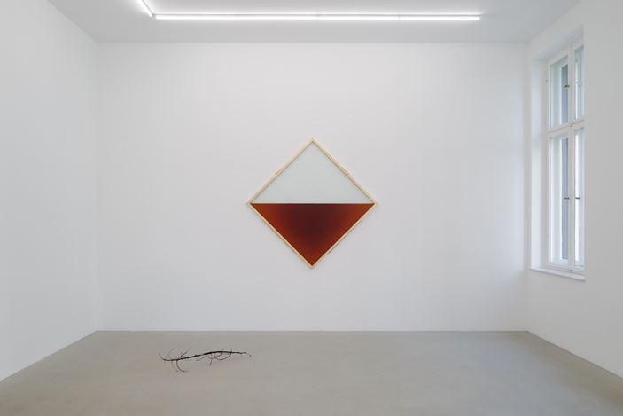 Exhibition view: Vajiko Chachkhiani and Reijiro Wada, A Silent Conversation, Rolando Anselmi, Berlin (21 February–15 June 2020). Courtesy Rolando Anselmi.