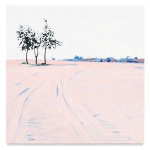 Three Trees by Isca Greenfield-Sanders contemporary artwork