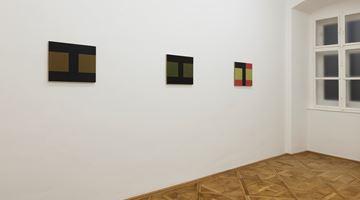 Contemporary art exhibition, Helmut Federle, Basics on Composition 1992 & 2019 / Horizont der sieben Seen (Horizon of the Seven Lakes) at Galerie nächst St. Stephan Rosemarie Schwarzwälder, Vienna