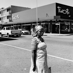 On the corner of Commissioner and Eloff Streets by David Goldblatt contemporary artwork