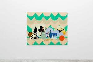 The Stage by Farah Atassi contemporary artwork