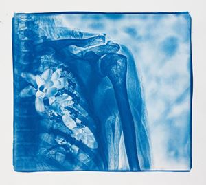 Blue Bones No.6 by Hu Weiyi contemporary artwork