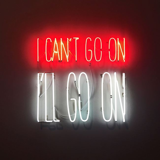 I Can't Go On. I'll Go On. by Alfredo Jaar contemporary artwork