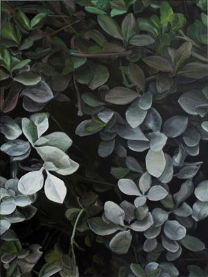 White Leaves No. 1 by Guo Hongwei contemporary artwork