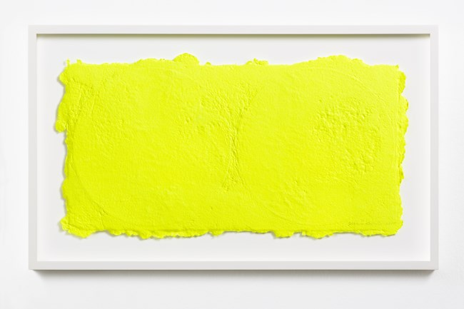 Yellow on Two Vinyls by Shinro Ohtake contemporary artwork