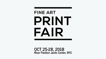 Contemporary art exhibition, IFPDA Fine Art Print Art Fair 2018 at Galerie Lelong & Co. Paris, 13 Rue de Téhéran, Paris