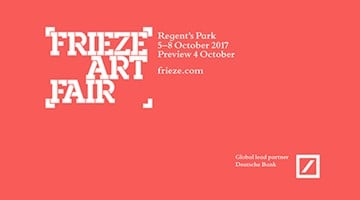 Contemporary art exhibition, Frieze London 2017 at Thomas Dane Gallery, London