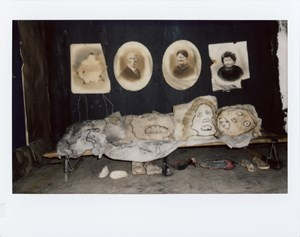Untitled (Polaroid#036-3) by Roger Ballen contemporary artwork