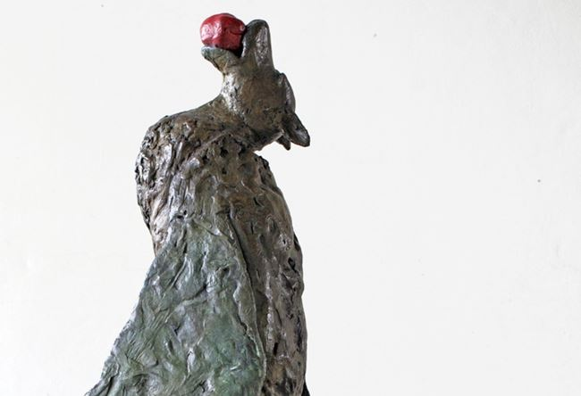 Walking Bat with Fruit by Copper Tritscheller contemporary artwork