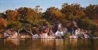 Afternoon, Long Island (Hawkesbury 19) by A.J. Taylor contemporary artwork painting