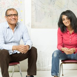 Reza Farkhondeh & Ghada Amer