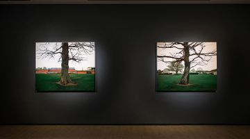 Contemporary art exhibition, George Shaw, A Scrap of History at Lin & Lin Gallery, Taipei, Taiwan