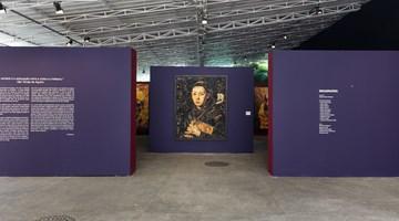 Contemporary art exhibition, Vik Muniz, Imaginária at Casa Santa Ignez, Rio de Janeiro, Brazil