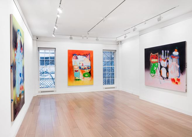 Exhibition view: Marco Pariani, Cheim & Read, New York (19 February–27 March 2021). Courtesy Cheim & Read.